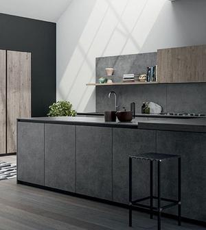 Cucine Moderne Bianche Effetto Legno.Cucine Moderne Centomo Floriano Arreda Cucina In Legno Verona