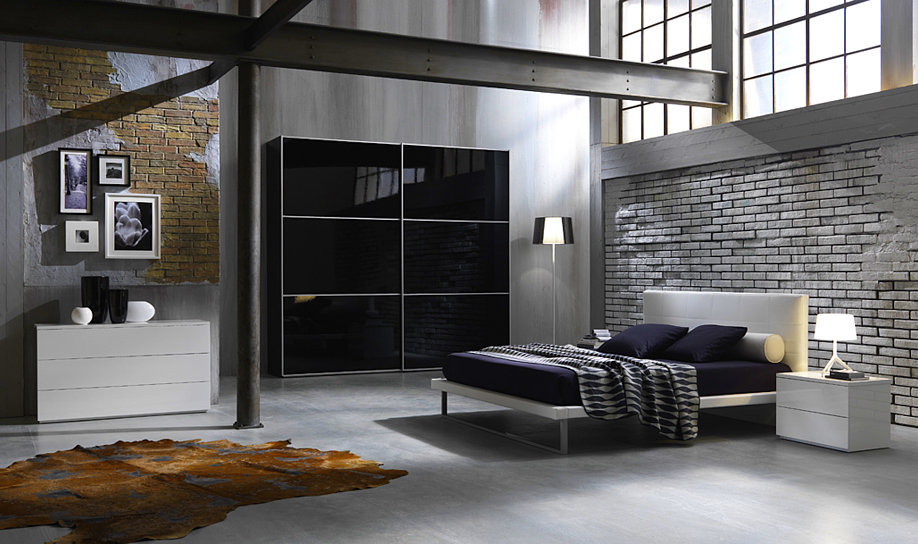 Camere moderne centomo floriano arreda - Camera da letto doppia ...