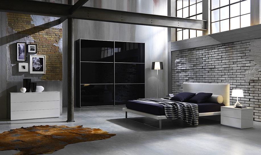 Camere moderne centomo floriano arreda - Camere da letto particolari moderne ...