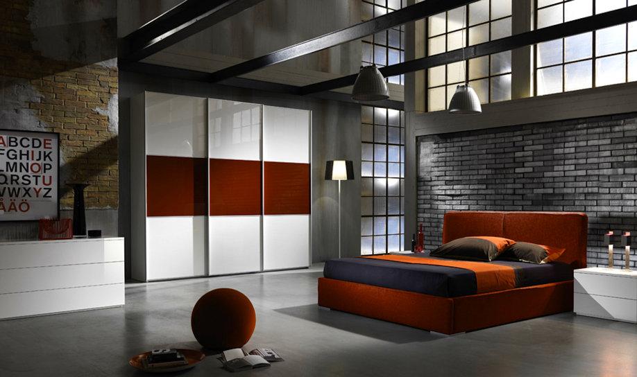 Camere moderne centomo floriano arreda for Camere da letto moderne colorate
