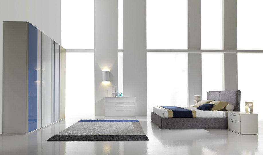 Camera Da Letto Bianco Lucido : Camere moderne centomo floriano arreda