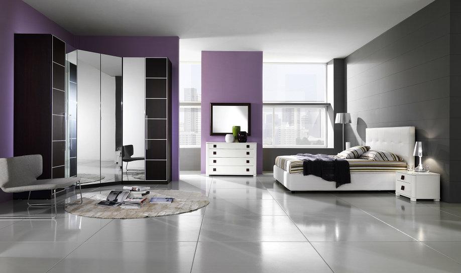 Camera da letto matrimoniale con cabina armadio idea for 2 piani casa moderna camera da letto