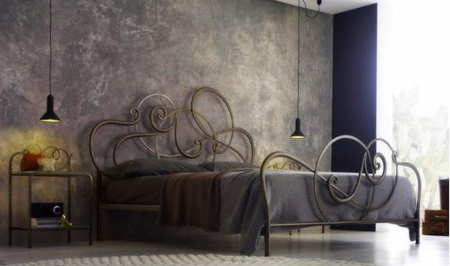 Camere moderne centomo floriano arreda - Camere da letto con letto in ferro battuto ...