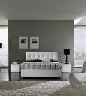 Camere moderne centomo floriano arreda for Camere da letto bianche moderne
