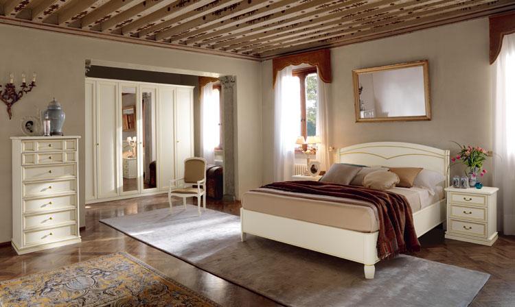 Camere classiche centomo floriano arreda - Camere da letto ferro battuto ...