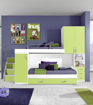 Camerette moderne per bambini centomo floriano arreda - Camerette bambini moderne ...