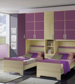 Camerette moderne per bambini centomo floriano arreda for Cameretta doppio ponte