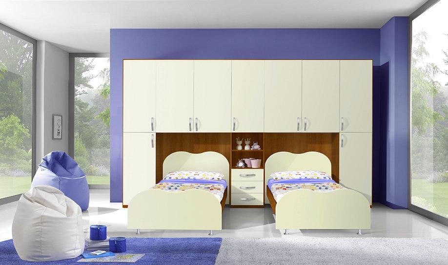 Cameretta A 2 Letti.Camerette Moderne Per Bambini Centomo Floriano Arreda
