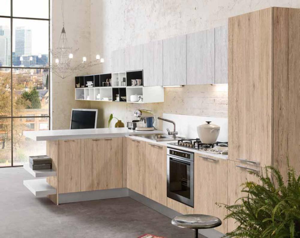 Favoloso Cucine Moderne | Centomo Floriano Arreda cucina in legno Verona  WD71