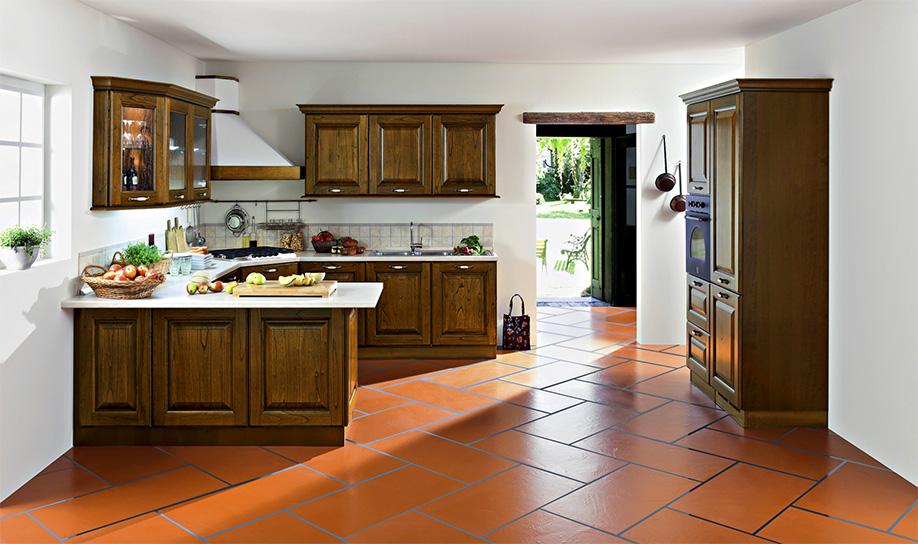 Cucina classica noce idea creativa della casa e dell for Fumagalli arreda