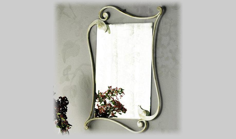 Ingressi e madie centomo floriano arreda for Specchio in ferro battuto