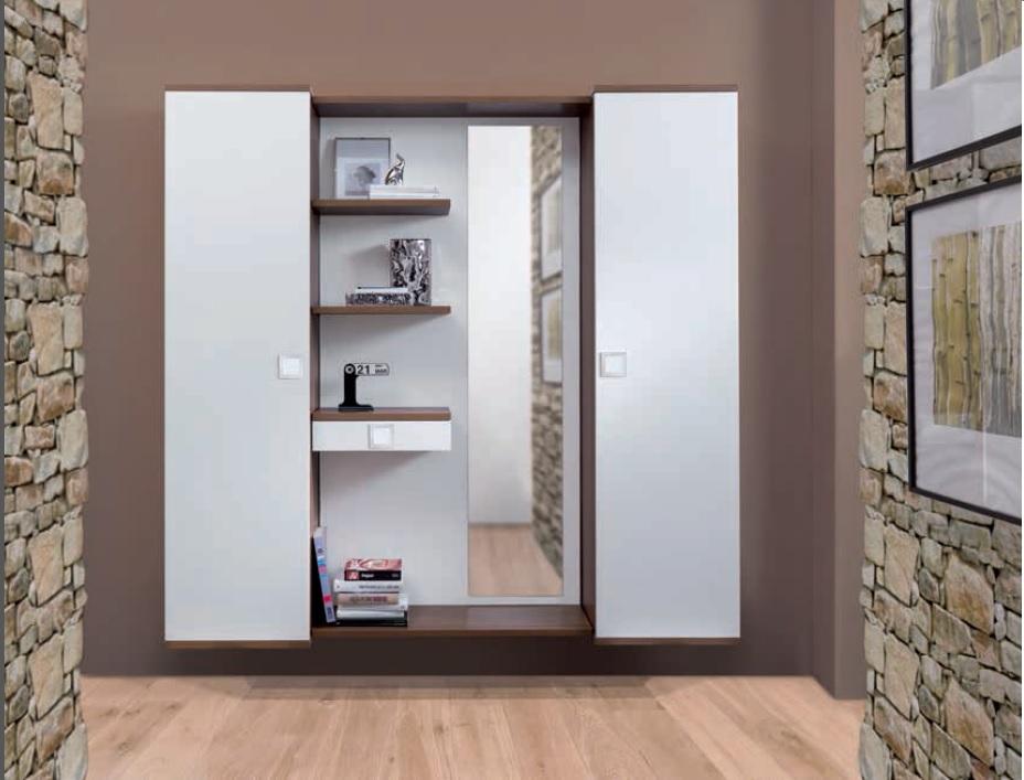 Mobili Da Ingresso Moderno : Due b mobile ingresso con due cassetti e specchio sediarreda avec