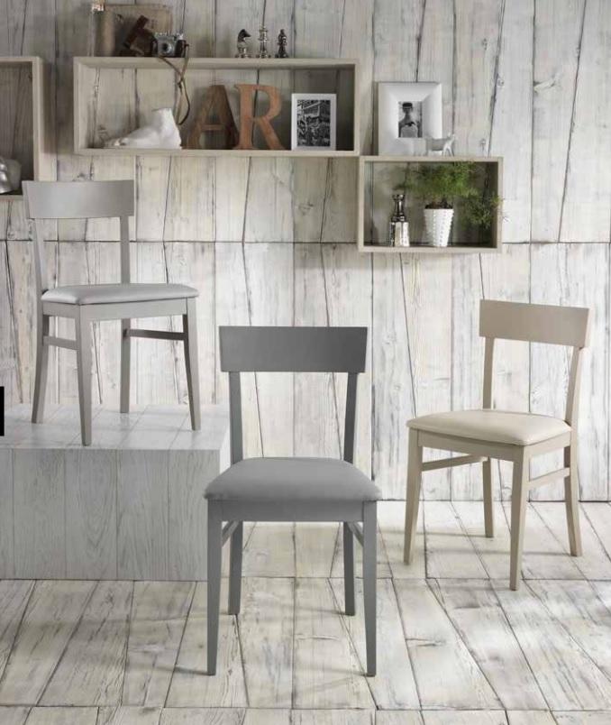 sedie e sgabelli | centomo floriano arreda - Sedie Soggiorno Imbottite 2
