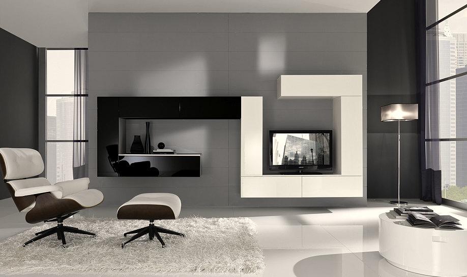Salotto Nero E Bianco : Nero divano letto posti reclinabile salotto ...