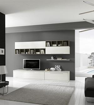 Beautiful pareti soggiorno grigio photos idee for Soggiorno moderno grigio e bianco