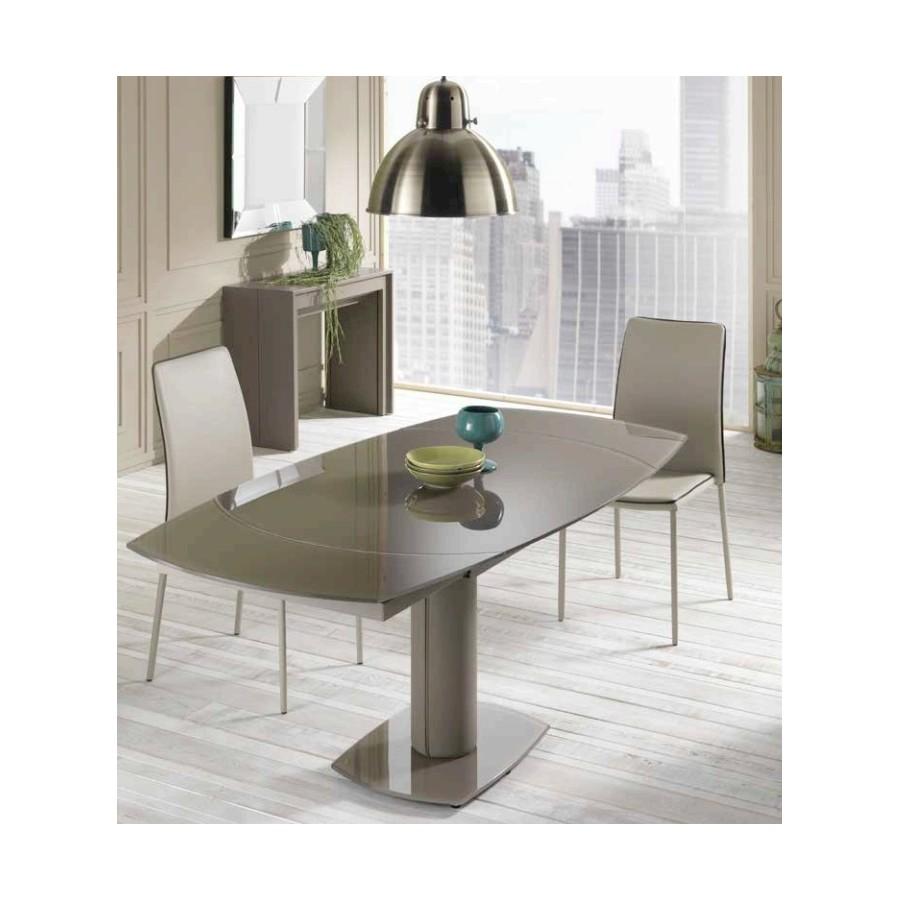 Tavolo tondo cucina tavolo da cucina tondo allungabile - Tavolo ovale cucina ...